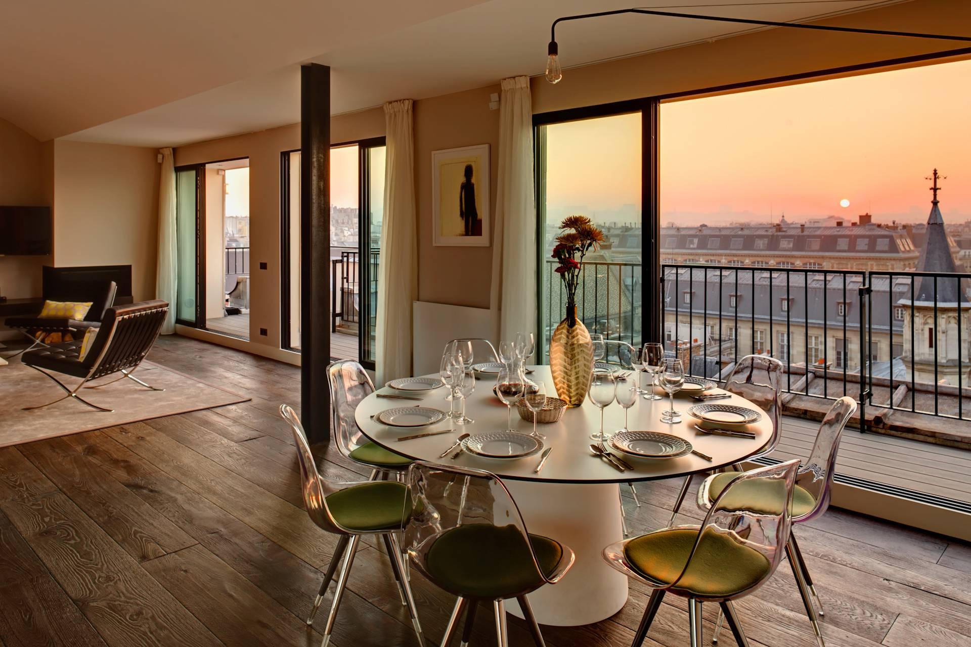 Kitchen Rental Apartment rentals Paris: HomeTown, specialist in short ...