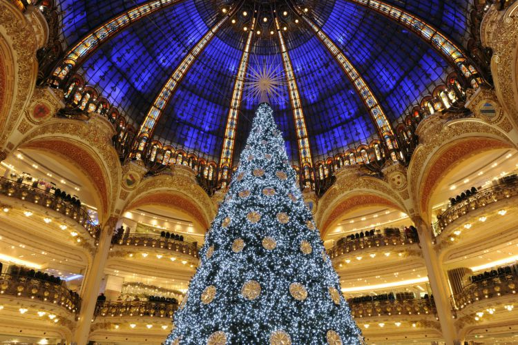 A magical atmosphere in Paris for the end-of-year celebrations